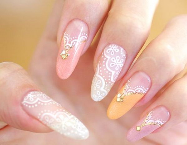 50 Beautiful Lace Nail Designs Page 5 Design Birdy