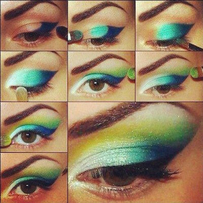15 Ombre Makeup Ideas
