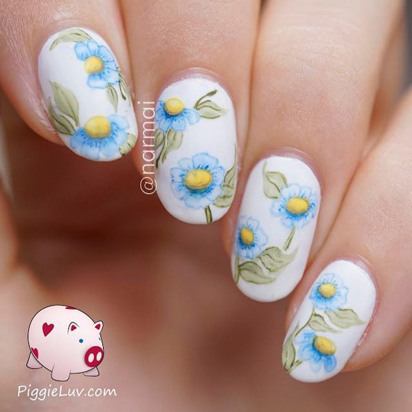 40 Watercolor Nail Art Designs - Page 4 of 5 - DESIGN BIRDY