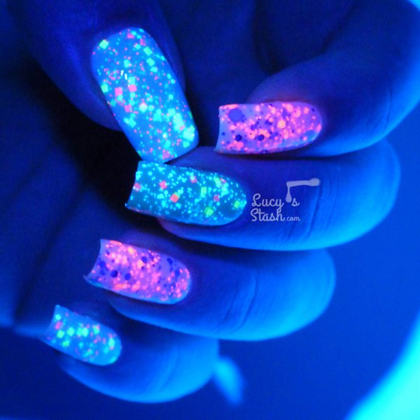 40 Glow Nail Art Designs Page 3 Design Birdy