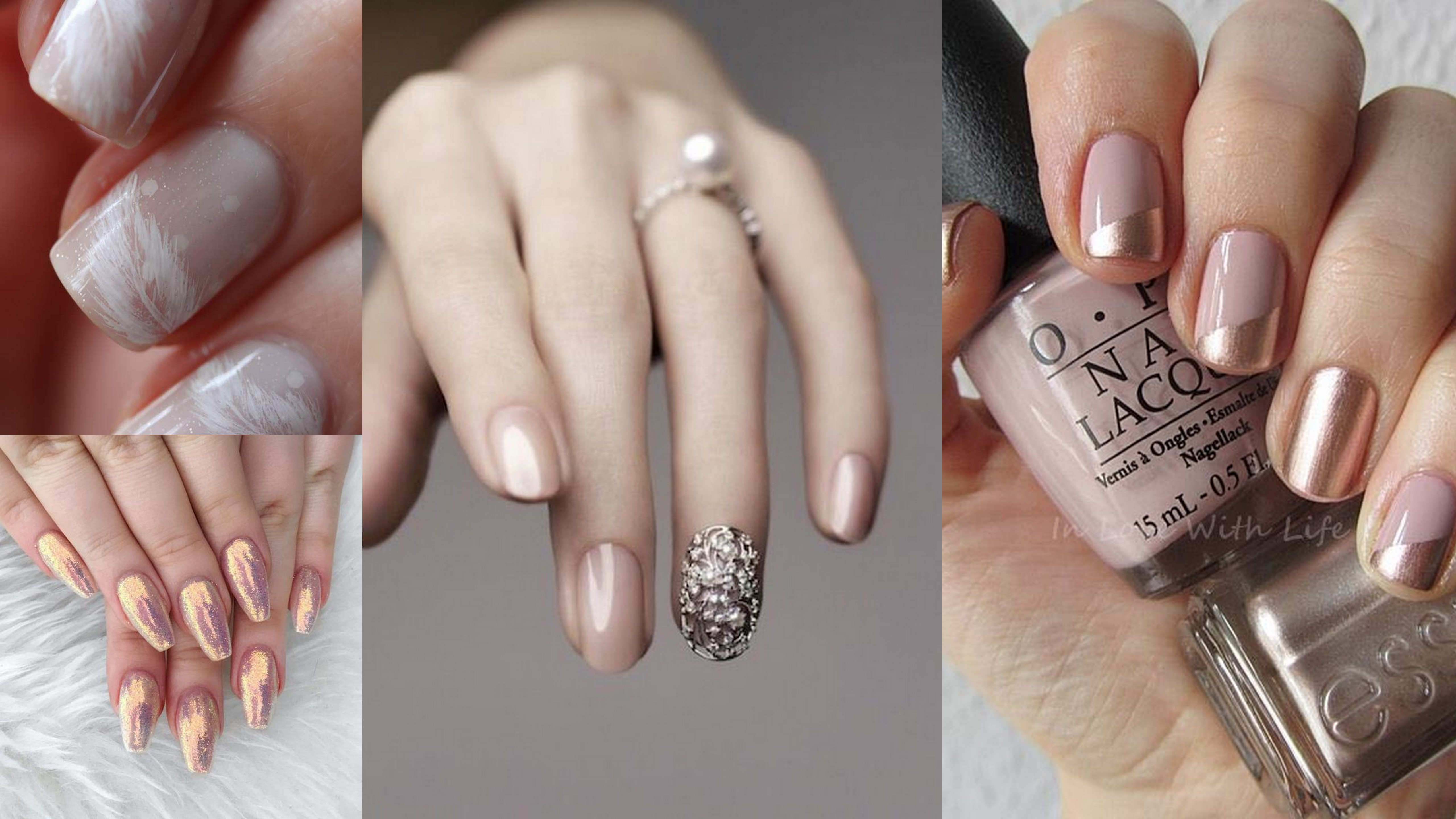 Trendy Wedding Nail Designs