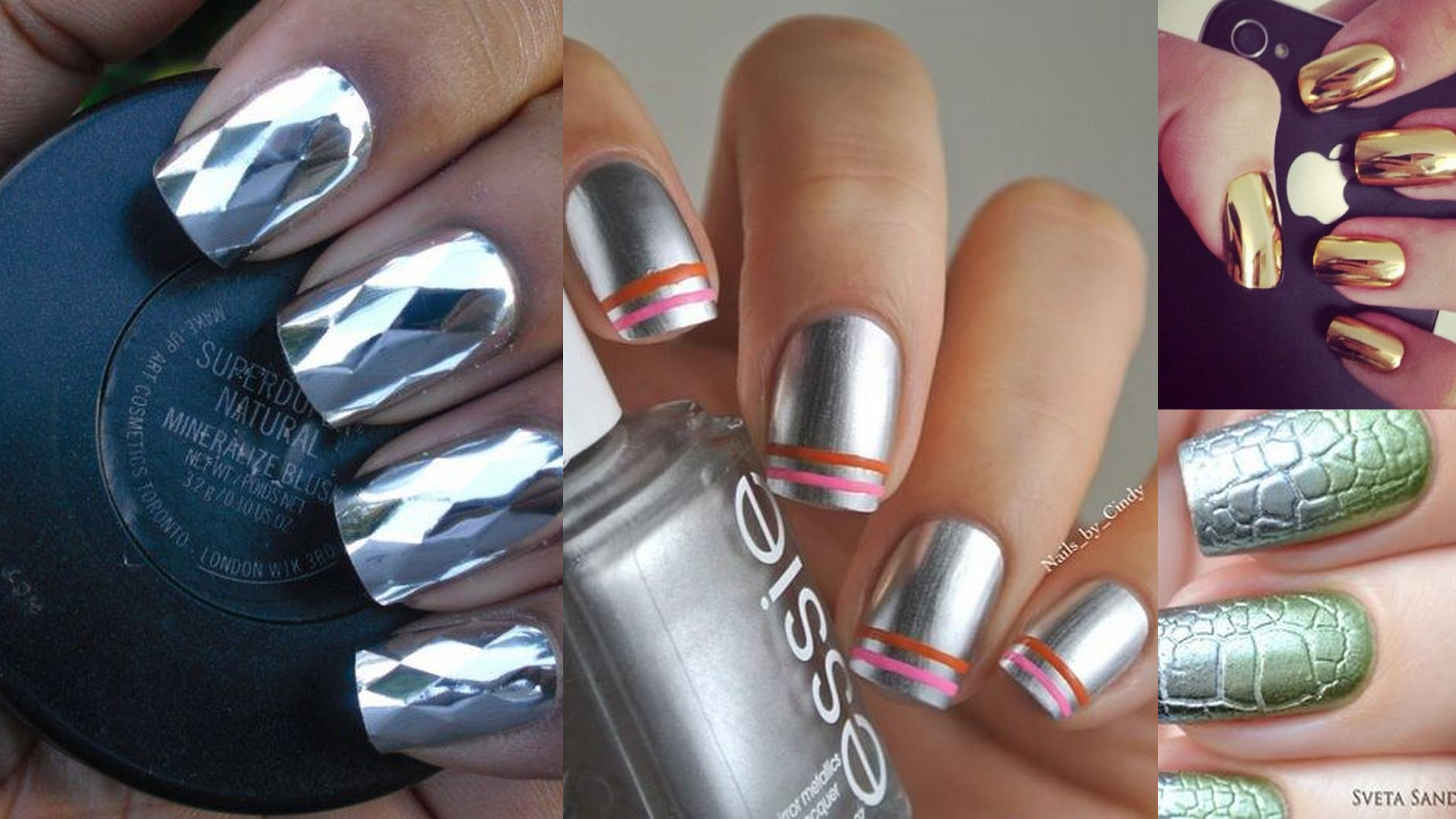 20+ Chrome Nail Designs