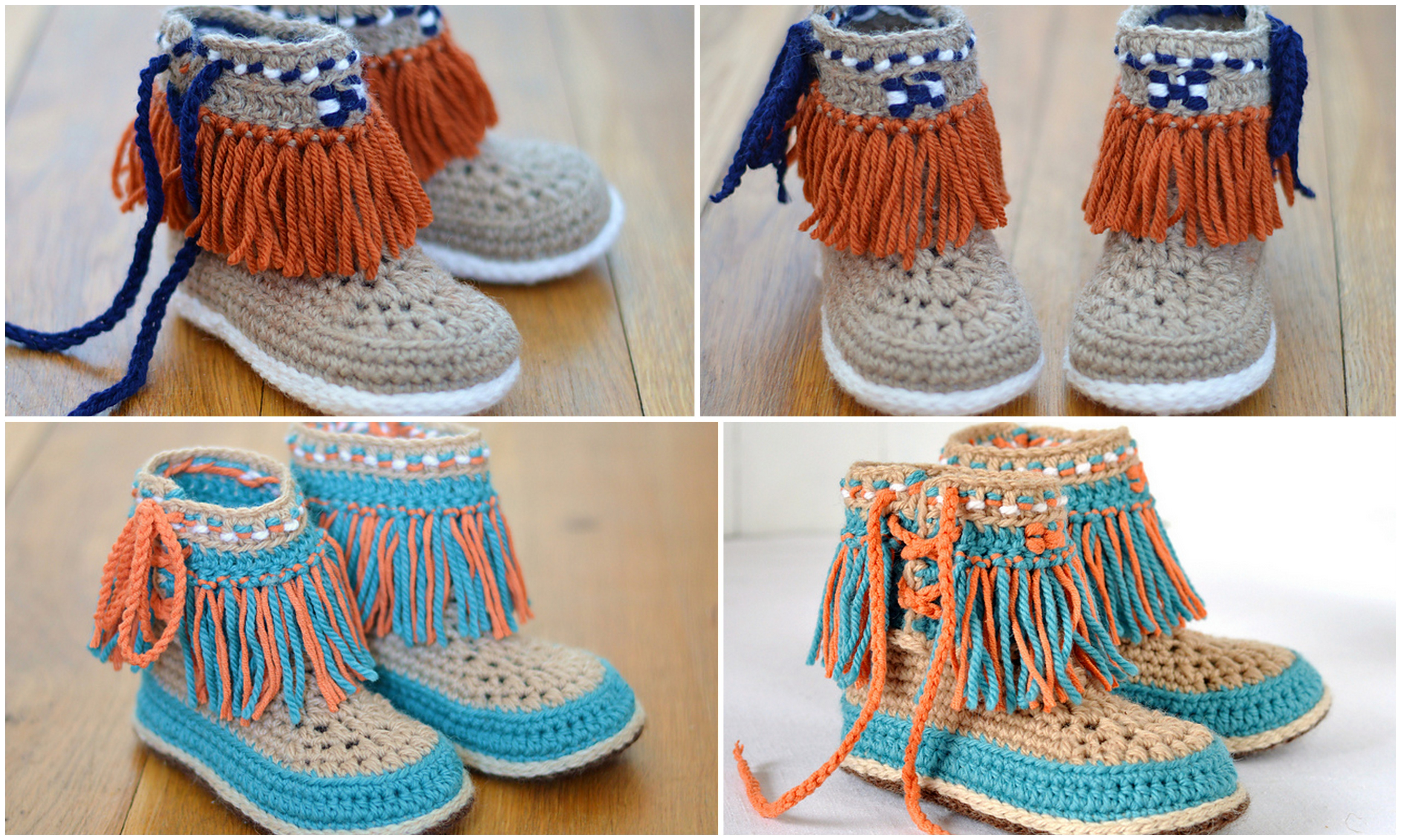 Moccasin Slippers For Kids Design Birdy