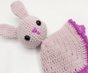 Crochet Very Cute Bunny Lovey