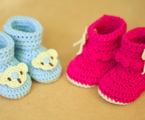 Crochet Cute Slippers