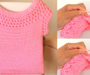 Crochet Beautiful Blouse Very Easy and Fast