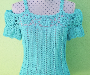 Crochet Beautiful Blouse Step by Step
