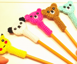 Crochet Pencil Topper