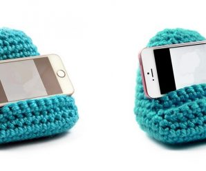 How to Crochet the Mobile Phone Holder