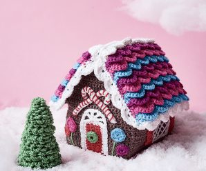 Crochet Gingerbread House Step by Step