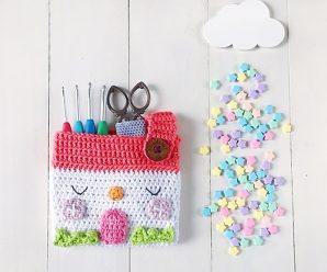 Crochet House Pouch/Organiser Step by Step