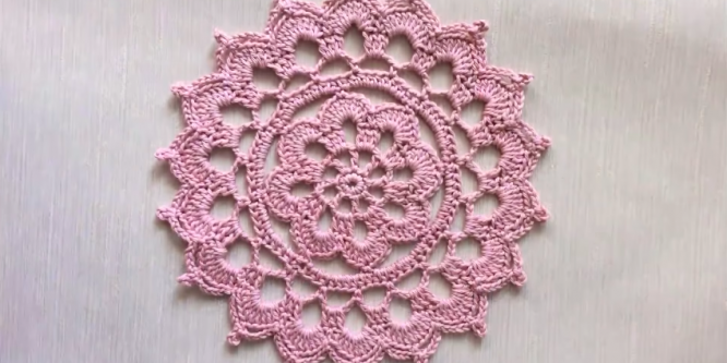 Crochet Doily For Beginners