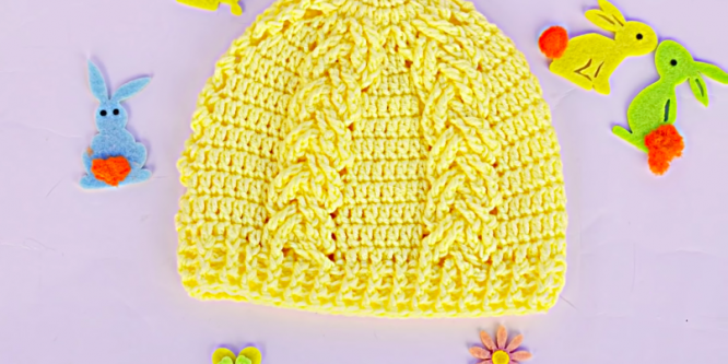 Crochet Cable Hat/Beanie